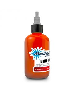 1 oz Sterile StarBrite Colors BRITE ORANGE Tattoo Ink Bright