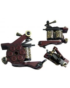 Afterlife Custom Irons Tattoo Gun Machine Shader 10-Wrap Coils