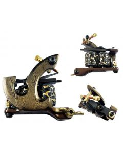 Afterlife Custom Irons Damascus Steel Tattoo Machine Shader Gun