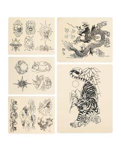 Rehab Ink 5 Tattoo Practice Skins - Variety Pack