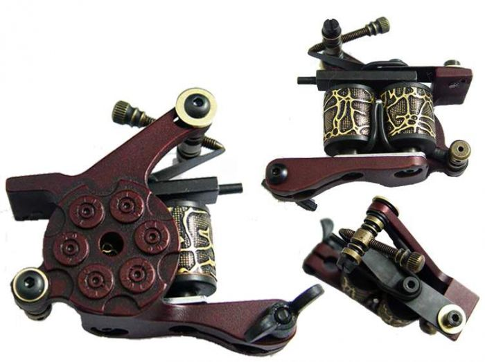 Afterlife Custom Irons Tattoo Gun Machine Shader 10-Wrap Coils