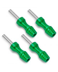 Rehab Ink 4 Plug Tattoo Machine Grips - Green