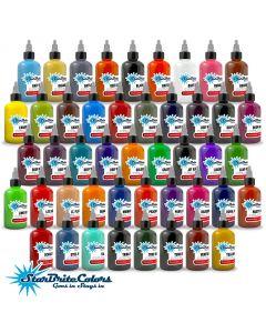 StarBrite Colors Tattoo Ink - 46 Color Set - 1 oz