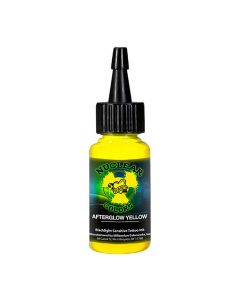 Millennium Mom's Nuclear Colors Afterglow Yellow UV Blacklight Tattoo Ink 1 oz
