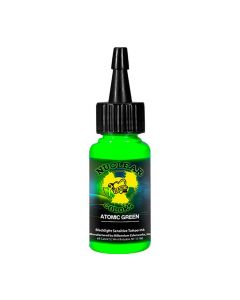 Millennium Mom's Nuclear Colors Atomic Green Tattoo Ink Glow UV Black Light Bottle 1 oz