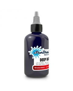 2 oz Sterile StarBrite Colors DEEP BLUE Tattoo Ink