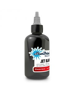 4 oz Sterile StarBrite Colors JET BLACK OUT Tattoo Ink
