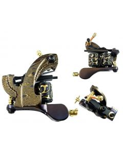 Afterlife Custom Irons Damascus Steel Frame Tattoo Machine