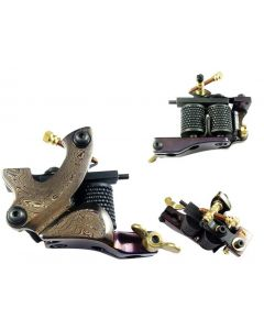 Afterlife Custom Irons Damascus Steel Tattoo Machine