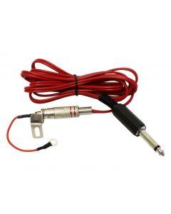 AmeriVolt Tattoo Gun Machine RCA Jack Conversion Kit Plug Adaptor & Clip Cord Set