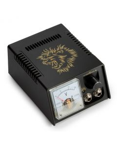 AmeriVolt Analog Lion Tattoo Power Supply Kit w/ Flat Foot Pedal & Clip Cord