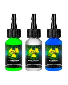 Millennium Mom's Nuclear UV Blacklight Tattoo Ink - 3 Color Set C - 1/2 oz